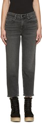 Alexander Wang Grey Ride Jeans