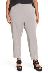 Plus Size Women's Eileen Fisher Tapered Tencel Ankle Pants