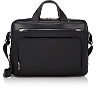 Tumi Men's Fairbanks Briefcase Black Blue Black Blue