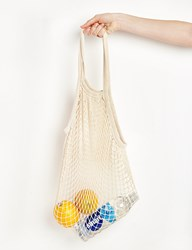 Pixie Market Ivory Fisherman Net Shoulder Bag