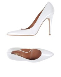 Blumarine Footwear Courts Women White