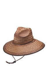 Peter Grimm Headwear Taft Straw Sun Hat Brown