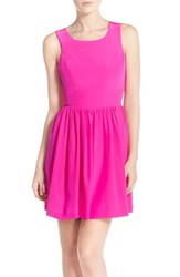 Women's Amanda Uprichard 'Emmie' Silk Fit And Flare Dress