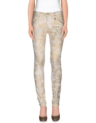 Roccobarocco Trousers Casual Trousers Women Ivory