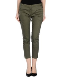 Barbour Casual Pants Military Green