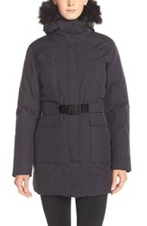 The North Face Women's 'Dunagiri' Waterproof Down Parka With Faux Fur Trim Tnf Black