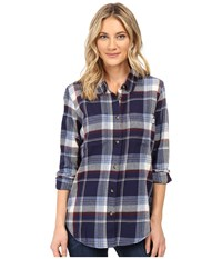 Vans Meridian Flannel Infinity Women's Clothing Blue