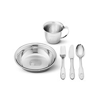 Georg Jensen Elephant Child Set