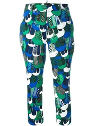 Dsquared2 Feather Print Chinos Multicolour