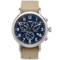 Timex Archive Weekender Chrono Watch Neutrals