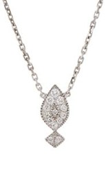 Stone Women's Gatsby Necklace Colorless