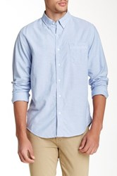 Timberland Gale Solid Long Sleeve Regular Fit Shirt Blue