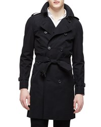 Burberry The Wiltshire Long Heritage Trench Coat Black