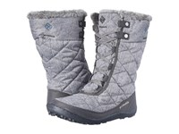 Columbia Minx Mid Ii Omni Heat Quarry Jewel Women's Hiking Boots Gray