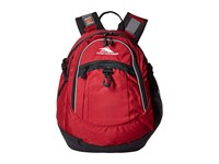 High Sierra Fat Boy Backpack Brick Black Backpack Bags Red