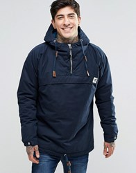 Fat Moose Sailor Overhead Jacket Quilted Lining Navy