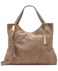 Vince Camuto Riley Leather Tote Smokey Quartz