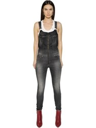 Diesel Jeide Stretch Cotton Joggjeans Overalls