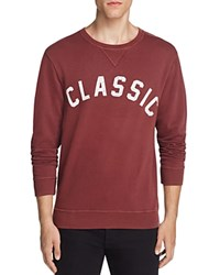 Sol Angeles Classic Graphic Sweatshirt Mahogany