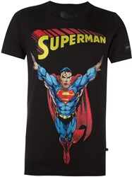 Philipp Plein 'Superman' T Shirt Black