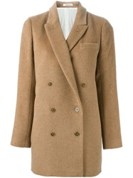 Lardini 'Donna' Coat Nude And Neutrals