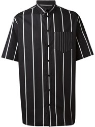 Givenchy Boxy Striped Shirt Black