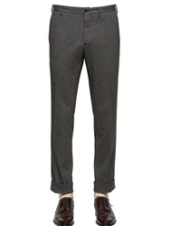 Boglioli 19Cm Stretch Cotton Wool Sharkskin Pants
