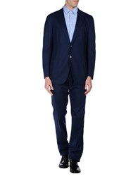 Tombolini Suits And Jackets Suits Men Dark Blue