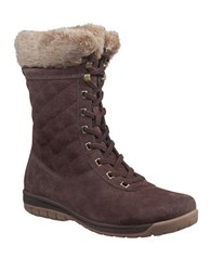 Helly Hansen Eir 4 Faux Fur Lined Suede Boots Brown