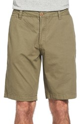 Men's Tailor Vintage Canvas Walking Shorts Army