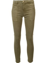 Current Elliott 'The Station Agent' Trousers Green