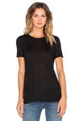 Craft And Commerce High Slit Tee Black