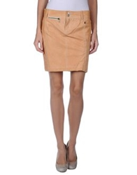 Galliano Leather Skirts