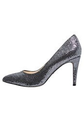 Buffalo Classic Heels Pewter Anthracite