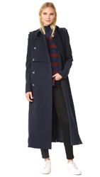 Camilla And Marc Classic Tailoring Trench Coat Ink