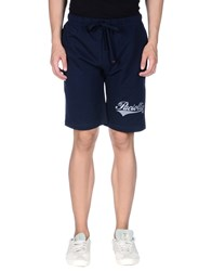 Cesare Paciotti 4Us Trousers Bermuda Shorts Men Dark Blue
