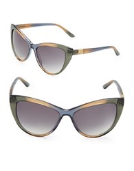 Brian Atwood 56Mm Cats Eye Sunglasses Multi Colored