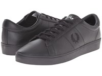 Fred Perry Spencer Leather Black Men's Lace Up Casual Shoes