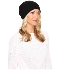 Ugg Luxe Oversized Beanie Black Beanies