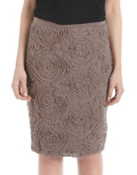 424 Fifth Textured Skirt Chantarelle