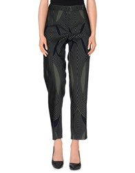 Odeeh Trousers Casual Trousers Women Military Green