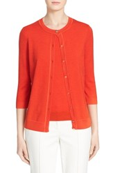 Women's St. John Collection Jersey Knit Cardigan