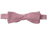 Cufflinks Inc. Gingham Cotton Bow Tie Red Ties