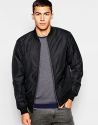 United Colors Of Benetton Bomber Jacket Black