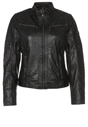 Gipsy Joy Leather Jacket Schwarz Black