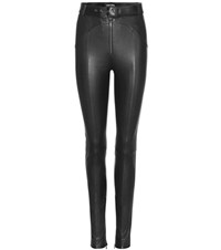 Tom Ford Leather Trousers Black