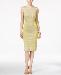 Bar Iii Intarsia Knit Bodycon Dress Only At Macy's Sphynx Combo