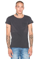 Scotch And Soda Cold Dyed Cut And Sewn Tee Gray
