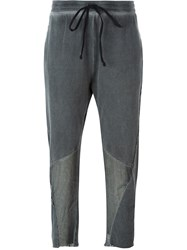 Lost And Found Rooms Cropped Trousers Grey