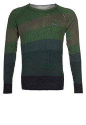 Desigual Semi Jumper Verde Green